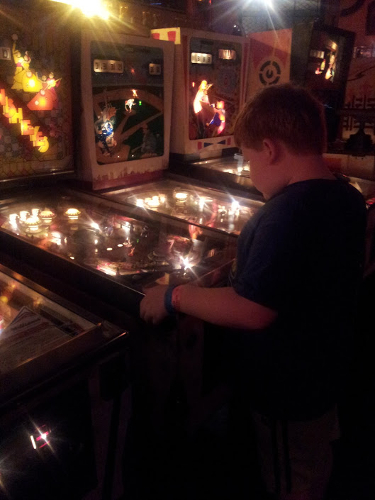 Vintage arcade in the City Museum