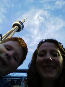 Us and CN Tower