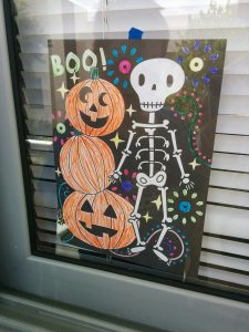 I colored this and put it in our window