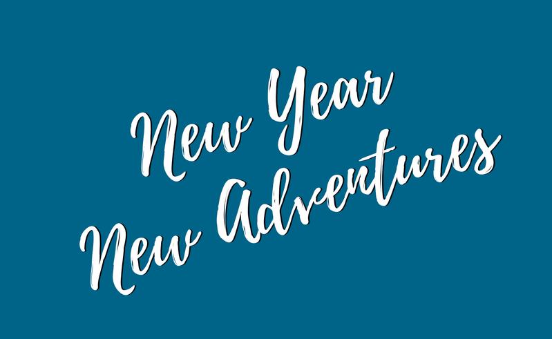 New Year, new adventures!